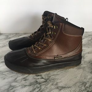 NAUTICA Bedford All-Weather men's brown boots